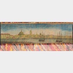 Fore-edge Paintings, Philadelphia and Boston, Two Volumes.