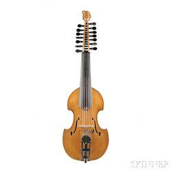 Modern Fourteen-string Viola D'Amore, Daniel Larson, Duluth, Minnesota, 1986