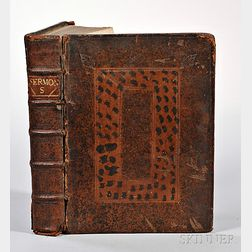 Sammelband of English Sermons, Late 17th Century, Approximately Eighteen Titles Bound as One.