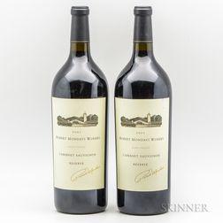 Robert Mondavi Winery Cabernet Sauvignon Reserve 2001, 2 magnums