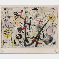 Joan Miró (Spanish, 1893-1983)      La main