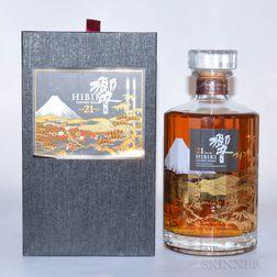 Hibiki 21 Years Old, 1 750ml bottle (pc)