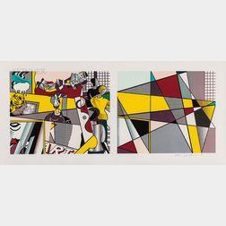 Roy Lichtenstein (American, 1923-1997)      Tel Aviv Museum Print