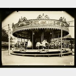 Eugène Atget (French, 1857-1927)      Carrousel
