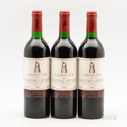 Chateau Latour 1986, 3 bottles