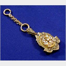 Tri-color Victorian Locket