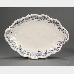 Cerreto Abruzzo Tin Glazed Earthenware Platter
