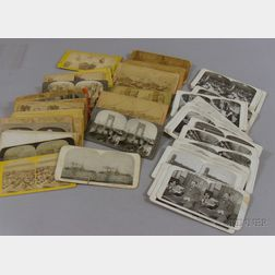 Collection of Late 19th Century and Early 20th Century Stereoview Cards