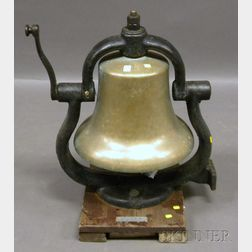 Canadian National Railroad Steam Locomotive Cast Bell-metal Bell