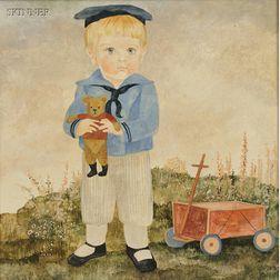 Jeanne Davies (American, b. 1936)    Three Portraits of Children