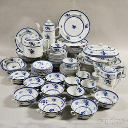 "Extensive Set of Copeland Spode ""Gloucester"" Dinnerware"