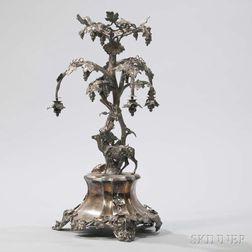 Victorian Silver-plate Centerpiece