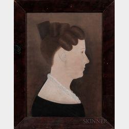 Ruth Henshaw Bascom (Massachusetts, 1771-1848)      Portrait of Sarah Flint Burton