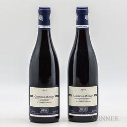 Anne Gros Chambolle Musigny La Combe dOrveau 2005, 2 bottles