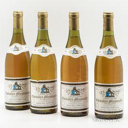 Henri Clerc & Fils Chevalier Montrachet 1985, 4 bottles