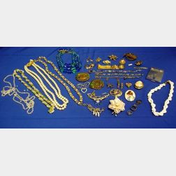 Group of Antique and Costume Jewelry