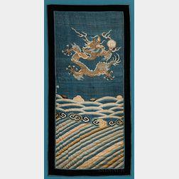 Fragment of a Kesi   Dragon Robe