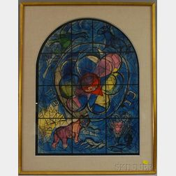 Marc Chagall (French/Russian, 1887-1985)      The Tribe of Benjamin