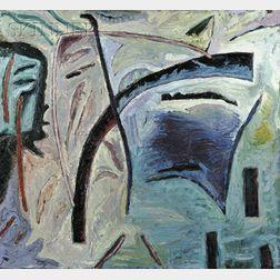 Gregory Amenoff (American, b. 1948)      Hickory Wind