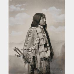 """Frank Rinehart Photo of """"Annie Red Shirt-Sioux,"""""""