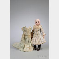 Bru Jne 5 Bisque Head Doll