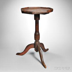 Octagonal-top Candlestand