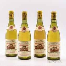 Chateau de la Maltroye Chassagne Montrachet Clos de la Maltroye 1982, 4 bottles