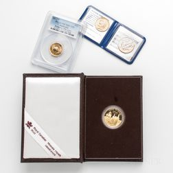 Four World Gold Coins