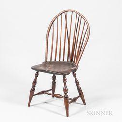 Braced Bow-back Windsor Side Chair