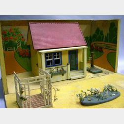 Gottschalck Wood and Board Doll House