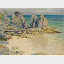 Will Howe Foote (American, 1874-1965)      Bermuda Coast