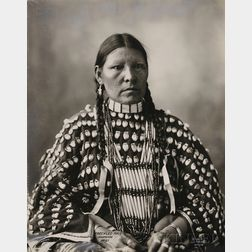 "Frank Rinehart Photo of ""Freckled Face-Arapahoe,"""