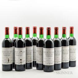 Chateau La Grave Pomerol Trigant de Boisset 1978, 10 bottles