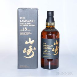 Yamazaki 18 Years Old, 1 750ml bottle