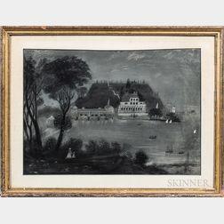 American School, 19th Century      Philadelphia Waterworks