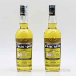 Yellow Chartreuse, 2 500ml bottles Spirits cannot be shipped. Please see http://bit.ly/sk-spirits for more info.