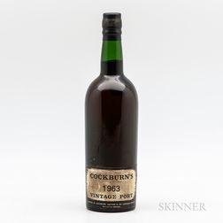 Cockburn Vintage Port 1963, 1 bottle