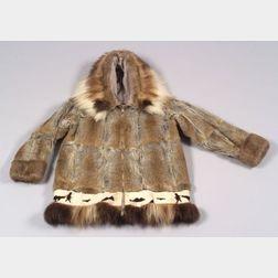 Eskimo Cloth-lined Fur Parka
