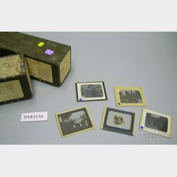 Collection of 1890s Glass Photographic Slides