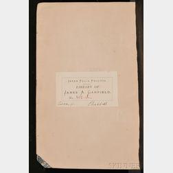 Garfield, James (1831-1881), His Copy