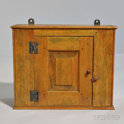 Small Shaker Pine Wall Cupboard