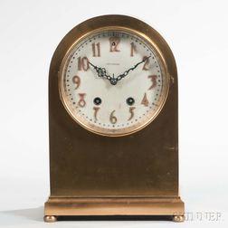 Seth Thomas Doric No. 1 Bronze Mantel Clock