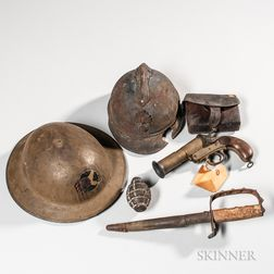 Group of WWI Items