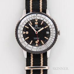 "Ollech & Wajs ""Selectron Calculator"" Military Aviation Wristwatch"