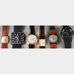 Six Wristwatches