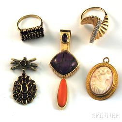Small Group of Jewelry