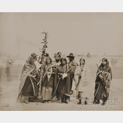 "George Stark Photo of ""An Interesting Group of Indians at the World's Fair,"""