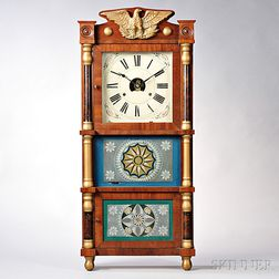 Birge, Peck, & Co. Triple-decker Clock