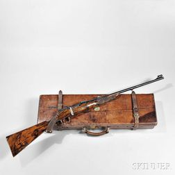 John Dickson & Son Takedown Rifle with Maker's Case