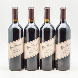 Dunn Cabernet Sauvignon Napa Valley 1996, 4 bottles